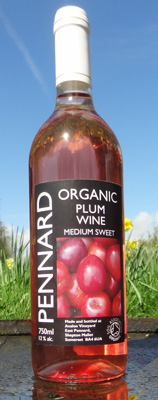 Our local variety of cherry plums give this wine a rich yet refreshing balance.